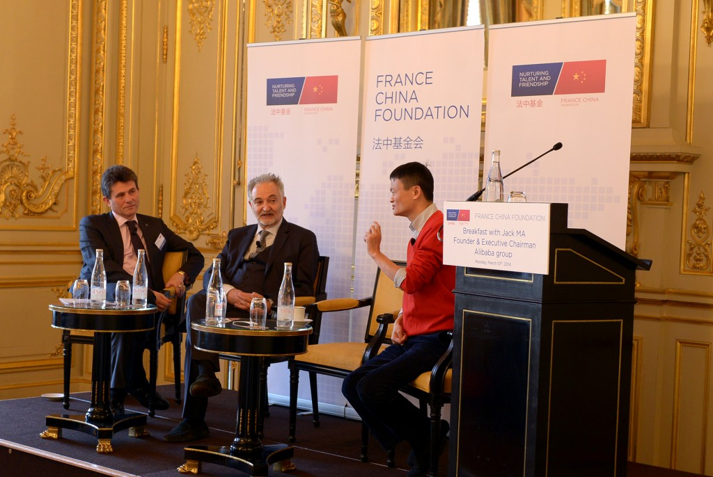 Henri de CASTRIES, Jacques ATTALI, Jack MA